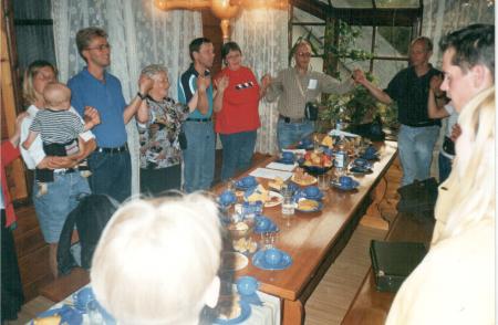 Zviedrijas (Varnamo) draudzes brāļi un māsas ciemos