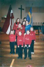 """Bērnu centra """"Cerība"""" bērni un darbinieki viesojās Zviedrijā, Varnamo draudzē."""
