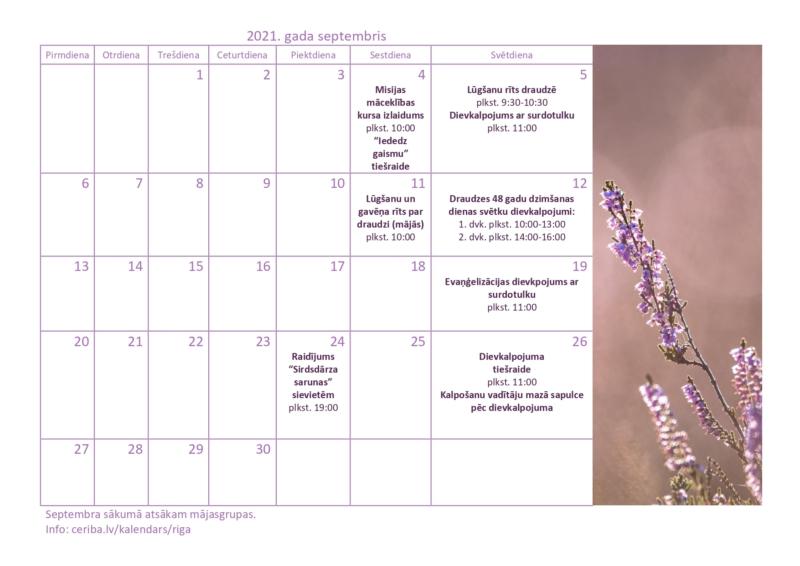 Rigas draudzes kalendars 09.2021_1